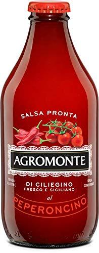 Salsa Pronta di Pomodorino Ciliegino con Peperoncino Agromonte 330 g