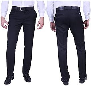 Calça Social Masculina Alfaiataria Bolso Embutido Modelo Fit