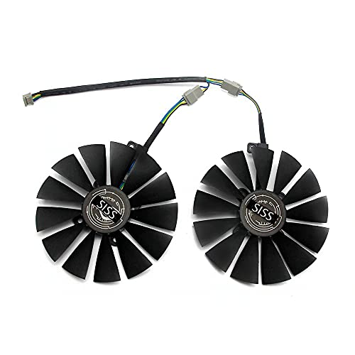 95mm Cooler Fan for ASUS STRIX RX 470 580 570 GTX 1050Ti 1070Ti 1080Ti ROG Poseidon Radeon Dual RX 580 8GB Gaming Video Card Cooling Fan T129215SM