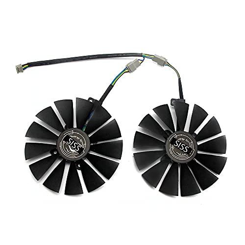 95mm Cooler Fan for ASUS STRIX RX 470 580 570 GTX 1050Ti 1070Ti 1080Ti ROG Poseidon Radeon Dual RX 580 8GB Gaming Video Card Cooling Fan T129215SM
