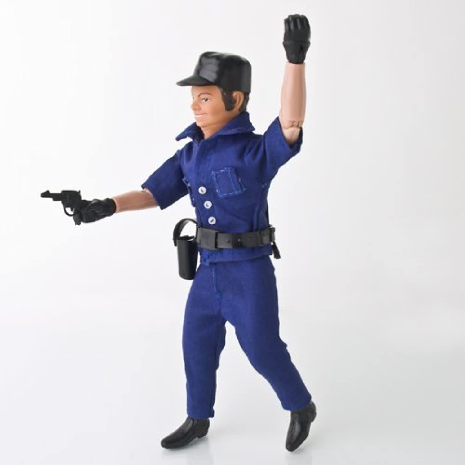 Wrestling Police Officer Action Figure by Figures Toy Company