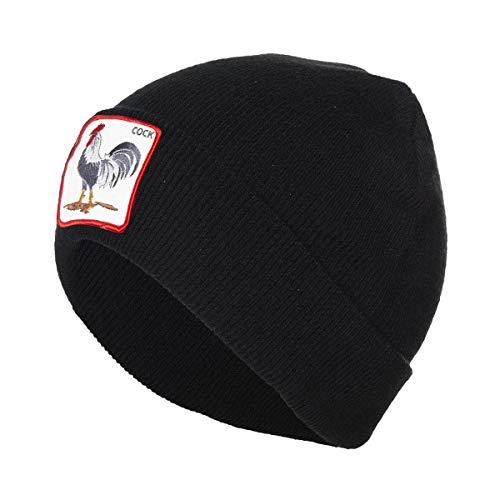 Goorin Bros - Gorro con diseño de cock, color negro Negro Talla...