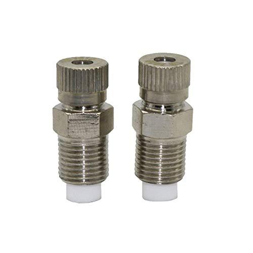 El aerosol de agua 1 Pc 0.1-0.6mm La atomización de la boquilla de nebulización Invernadero Industrial / Productos de limpieza de fábrica, eliminación de polvo de la boquilla, kits de riego (color: 0,