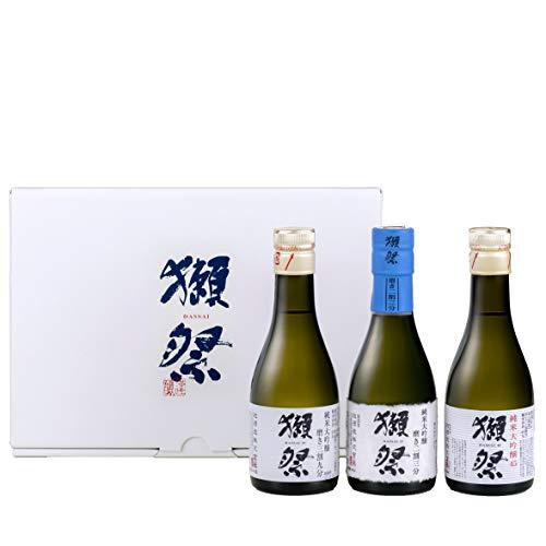 獺祭 (だっさい) おためしセット 180ml×3本 【 日本酒 純米大吟醸 飲み比べ ギフトBox入り 】
