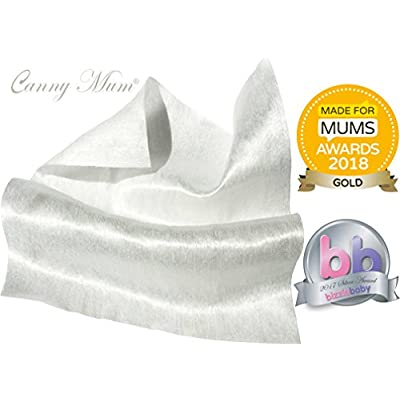 20 Dry Wipes Biodegradable. CannyMum Bamboo Wipes