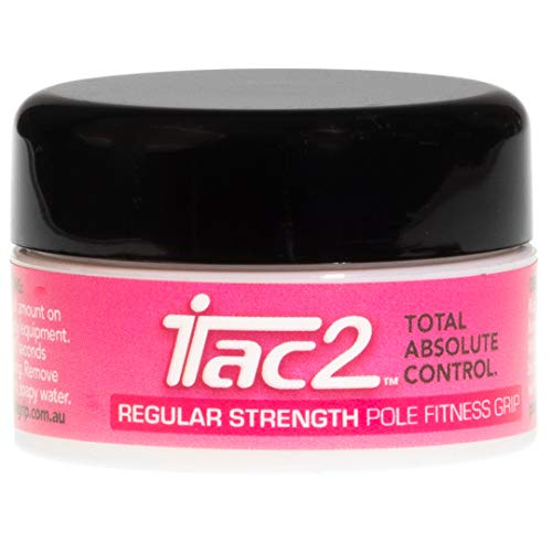 iTAC2 Level 2 (Regular Strength) Total Absolute Control Pole Dance Fitness Sports Grip 20gm by ITAC2