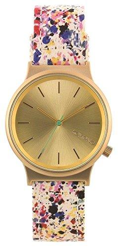 Komono Unisex-Armbanduhr Analog Quarz Leder KOM-W1820