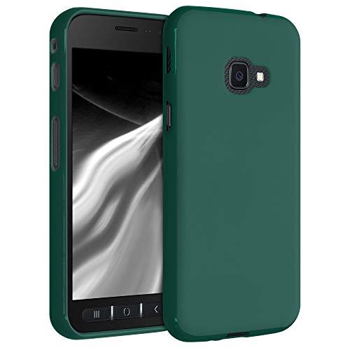 kwmobile Hülle kompatibel mit Samsung Galaxy Xcover 4 / 4S - Hülle Handyhülle - Handy Hülle in Türkisgrün