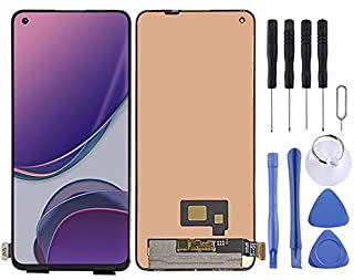 LCD Display Replacement Parts AMOLED Material LCD Screen and Digitizer Full Assembly Compatible for OnePlus 8T KB2001 KB20...