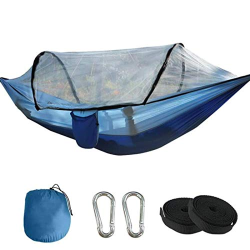 N-B Camping Hammock 260 X 140cm For 2 Person, Swing Bed,Swing Hanging Portable Lightweight Nylon Double Hammock With Straps For Backpacking, Camping, Travel, Beach, Garden