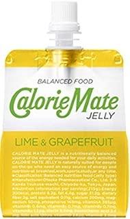 大塚製薬 カロリーメイト ゼリーライム&グレープフルーツ味 215gパウチ×12