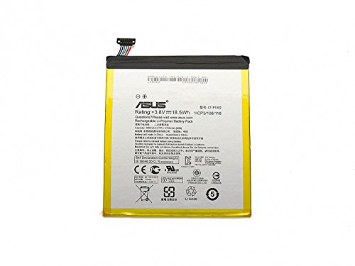 ASUS C11P1502 Lithium Polymère (LiPo) 4800mAh 3.8V Batterie Rechargeable - Batteries Rechargeables (4800 mAh, 18,5 Wh, Lithium Polymère (LiPo), 3,8 V, Noir)