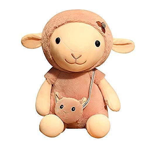 FGBV Plüschtiere 35 cm Puppe Spielzeug Lamm Puppe Rag Puppe Kind Weiche Kissen Mädchen Bett Puppe Kissen Home Schlafzimmer Dekoration Secretarygll Manmiao