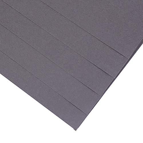 Windtor Origami-Papier, doppelseitig, Farbe, 40 Blatt, 4 K/8K, leicht faltbar, für Anfänger, Bastelprojekte 4K / 52*38cm grau