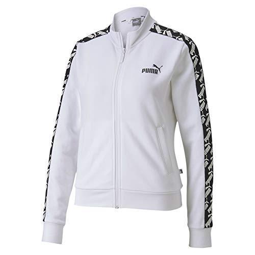 Puma Amplified Track Jacket TR Veste De Survêtement Femme Puma White FR : S (Taille Fabricant : S)