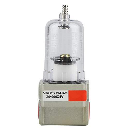 """1/4"""" Filtro compresor aire para Herramienta de sistema neumático separador de agua y aceite, AF2000-02"""