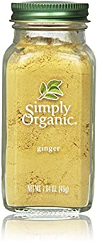 Simply Organic Ginger Root Ground Certified Organic, 1.64-Oz Container