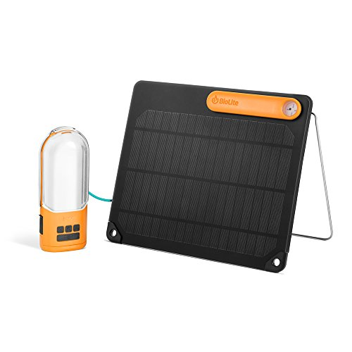 BioLite Camping Stromversorgung Power Light Solar Kit, 006-6001117