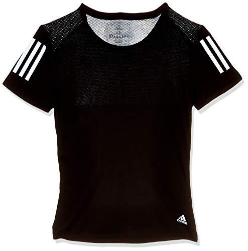 adidas Own The Run tee Camiseta de Manga Corta, Mujer, Black, XS
