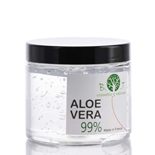 Gel Puro de Aloe Vera de Canarias 200 ml Regenerador 100% natural Hidratante Todo tipo de piel, Cara Cuerpo, Cabello (acondicionador)