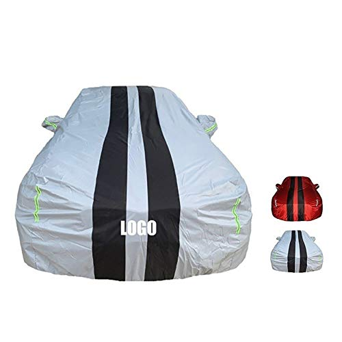 HWHCZ Car Cover,Compatible with car Cover Toyota Highlander,The Best Choice for Hatchback/Sedan/Convertible/SUV,All-Weather Protection (Color : B, Size : 2.0T 7 seat)