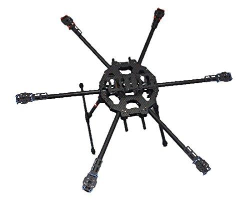 TAROT FY680 3k Carbon Fiber Full Folding Hexacopter 680mm FPV Aircraft UFO Frame 6-Axis DIY Drone Airframe Kit TL68B01