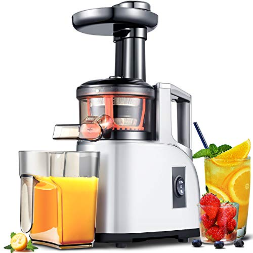 Learn More About Slow Juicer AMZCHEF Slow Masticating Juicer Extractor Slow Cold Press Juicer Machin...