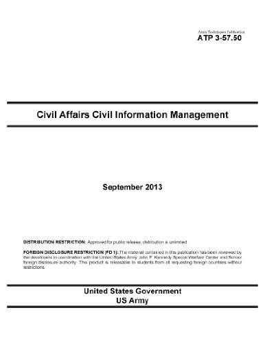 Army Techniques Publication ATP 3-57.50 Civil Affairs Civil Information Management September 2013 (English Edition)