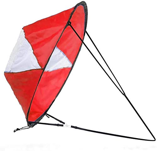 Zealhot Kayak Wind Segel 42 pulgadas Kit Kayak Kayak Paddle