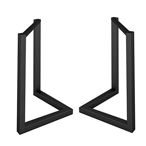 V-förmige Esstischbeine aus schwarzem Schmiedeeisen Einfache Halterung Konferenztisch Schreibtisch Teetischplatte Tischbeine Esstischbeine...