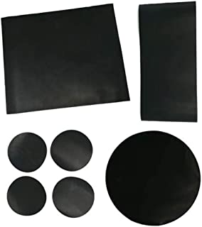 Norpro 8557, Set of 7 grill mat, Assorted Sizes, Black