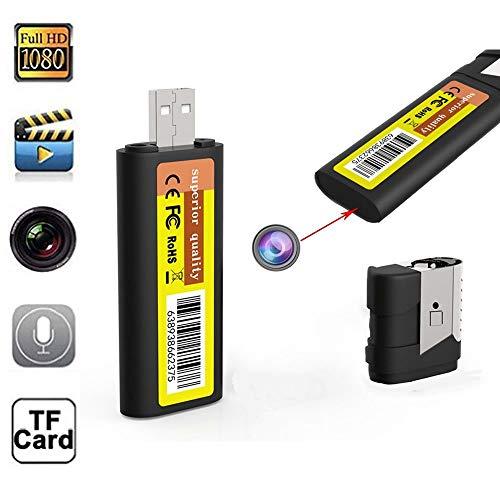 Cámara Espía HD 1080P Videocámara Con Microcámara Con Visión Nocturna Mini Cámaras Espía Con Vigilancia De Grabación Profesional Spy Cam Cameras