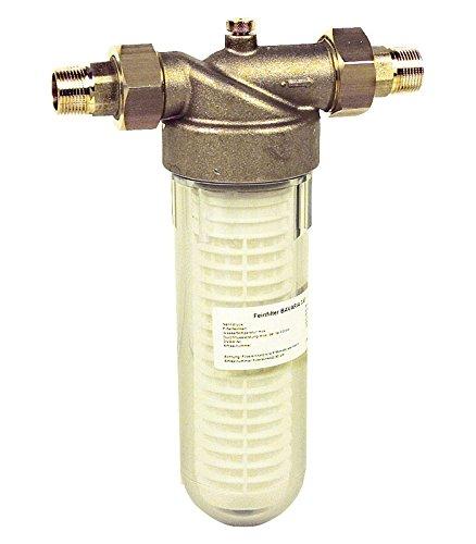 RIEGLER 101415-100.63 Feinfilter »Bavaria« für Trinkwasser, DVGW-geprüft, 90 µm, R 1, 1Stk