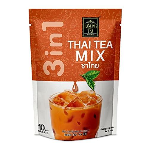 Ranong Tee Instant-Getränkemischung Tee 10 Beuteln (Thai Tee-Mischung)