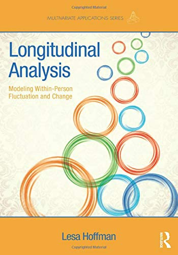Longitudinal Analysis: Modeling Within-Person Fluctuation and Change (Multivariate Applications Seri