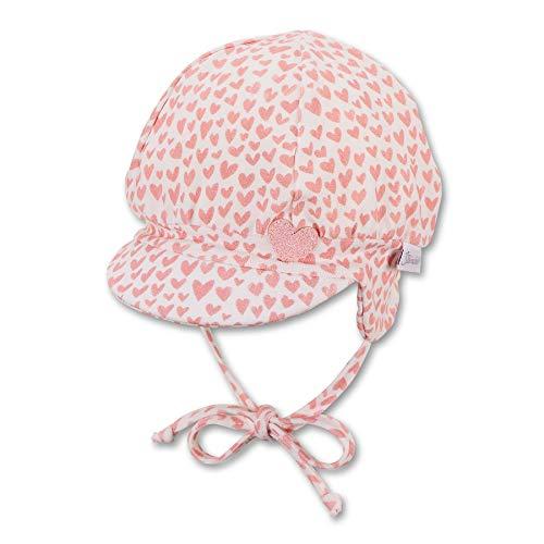 Sterntaler Baby Mädchen Ballonmátze 1402142 Hut, ecru, 43 EU