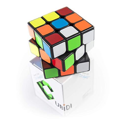 CUBIDI® Zauberwürfel 3x3 - Typ Los Angeles - Speedcube mit optimierten Dreheigenschaften für Speed-Cubing