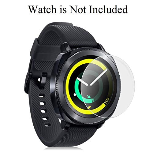 invella Tempered Glass Screen Protector for Samsung Galaxy Watch 42mm / Gear S2 / Gear Sport Tempered Glass (Transparent, Pack of 2)