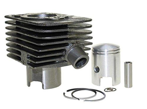 Cilinderkit cilinder set 50ccm met 10mm zuigerbout voor Piaggio Ciao Bravo Super Boxer