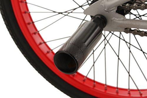KS Cycling Fahrrad BMX Freesyle 20″ Twentyinch Silber-rot - 5