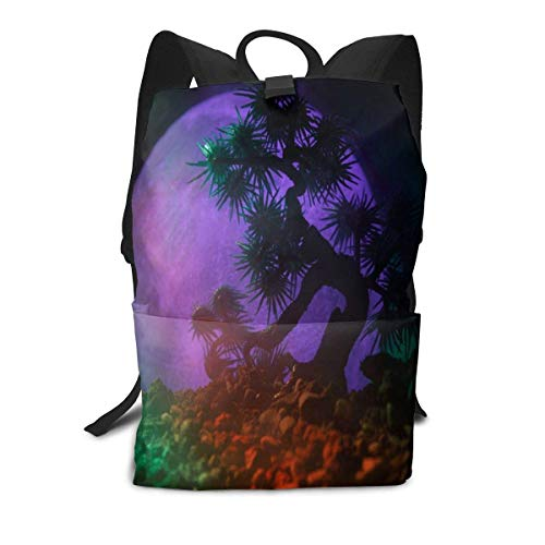Travel Storage Packet Amazing Silhouette Tree Travel Bag ,Multifunction Travel Accessories,School Backpack Tote Bag
