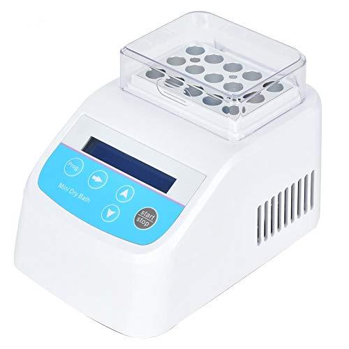 Minibox A Labor für Metallbäder mit konstanter Temperatur, Labor-Trockenbad-Inkubatorheizung Digitales Thermostat-Wasserbad Laborwerkzeugzubehör(EU plug)