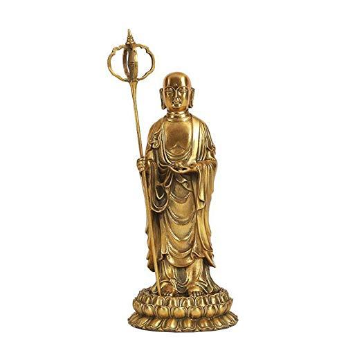 Boda Decoracion Figuras de Grandes Salon candelabros Jardin Exterior,Habitación Lilian Buda Estatua De Pie Casa De Pueblo Decoración De Bronce