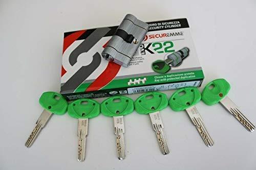 Secureme K22 EVO/bloqueo de alta seguridad/con 5 llaves