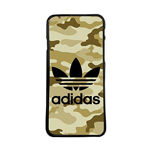 Funda Carcasa de móvil para Samsung Galaxy j7 (2016) Logotipo Adidas Logo Camuflaje TPU Borde Negro