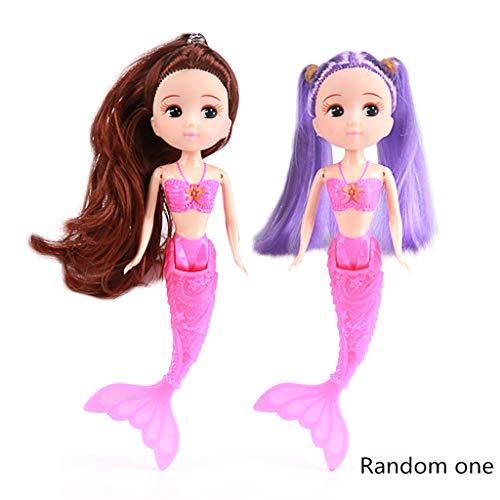 4 kleuren waterdicht zwemmen pop bad speelgoed poppen accessoires kinderen speelgoed meisje favorieten geschenken roze