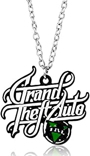 Necklace for women - Xbox Game Gta V Theft 5 Necklace Chain Pendant Necklaces Necklace