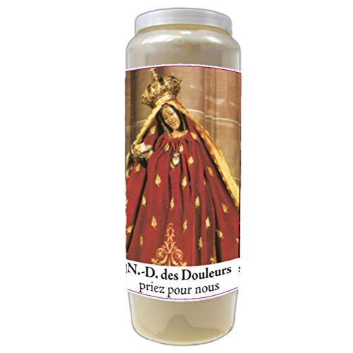 Bougie de prières Notre Dame des Douleurs - Neuvaine