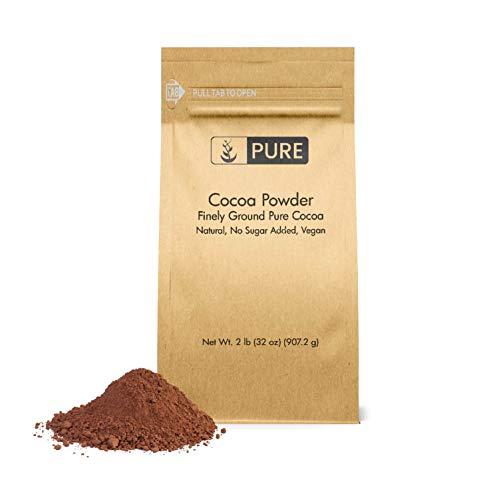 Cocoa Powder (2 lb) Pure, Dutch Processed, Baking Purposes, Flavor Enhancer, Skincare Benefits, Antioxidant-Rich, No Added Sugar