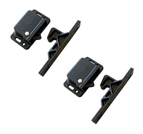 2 Grabber Catches 5LB Push to Close Latch OWACH CL-308 for RV Motorhome Trailer Cabinet Drawer Replacement Southco C3-805